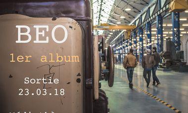 Visueel van project BEO - 1er album