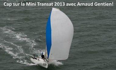 Project visual Courez la Mini Transat 2013 avec Arnaud Gentien