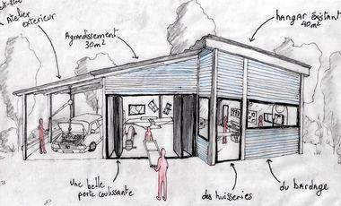 Project visual Atelier Collectif de Menuiserie