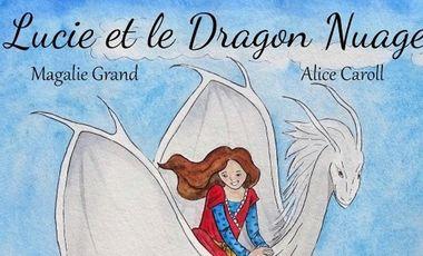 """Project visual Edition de l'abum jeunesse """"Lucie et le Dragon Nuage"""""""