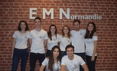 Project visual EM' Voile - Équipage sportif, solidaire et préventif Normand