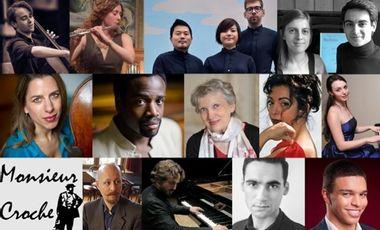 Visuel du projet Monsieur Croche, concerts & master classes