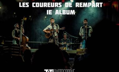 Project visual Les Coureurs de Rempart : 1e Album