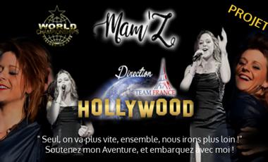 Visuel du projet Mam'Z à Hollywood pour les JO de Talents !