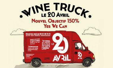 Visueel van project Wine truck le 20 Avril