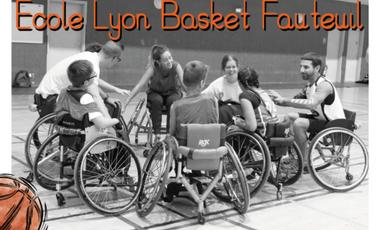 Project visual Une ECOLE de basket fauteuil pour ENFANTS en SITUATION de HANDICAP