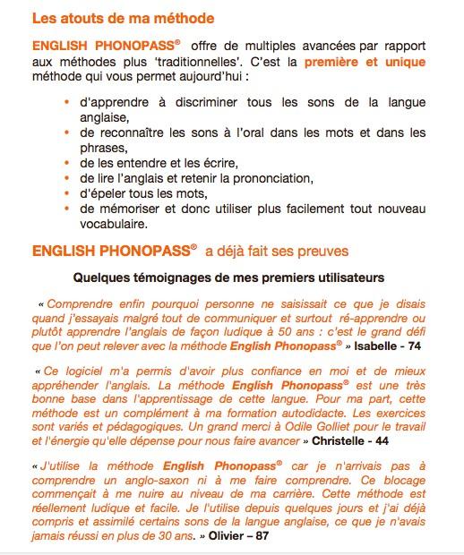 La Methode English Phonopass Par Odile Golliet Kisskissbankbank