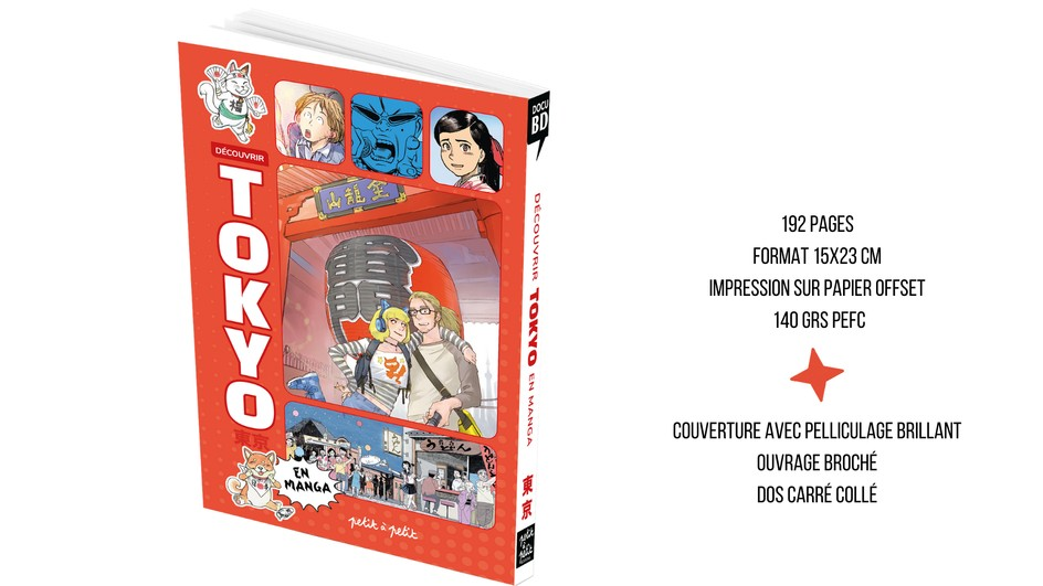 Découvrir Tokyo en Manga
